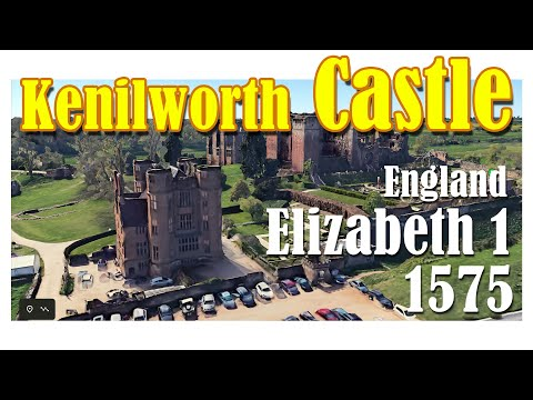 Kenilworth castle is located in the town of kenilworth in warwickshire. england, uk