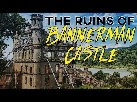 Exploring the ruins of bannerman castle - haunted island of the hudson