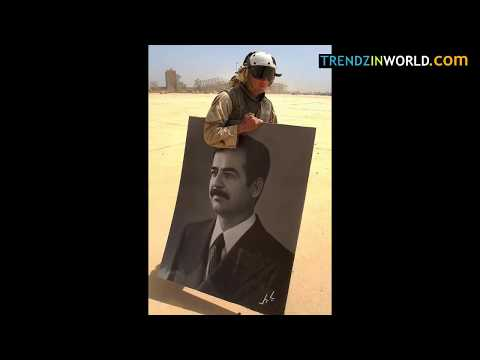 Us soldiers cried when saddam hussain was hanged | they have tears in eyes