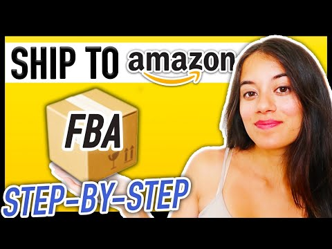 How to ship to amazon fba step by step guide   using a freight forwarder