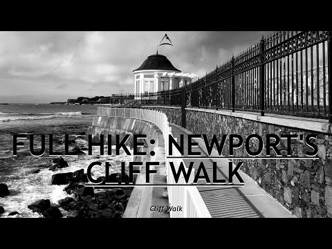 Full hike: gilded mansions on a coastal national recreational trail in newport, rhode island
