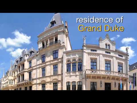 Luxembourg travel attractions - the grand ducal palace
