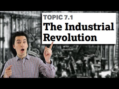 Transforming the world & destroying cottage industries [ap human geography unit 7 topic 1] (7.1)