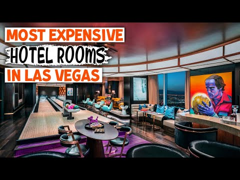 Top 10 most expensive hotel rooms in las vegas | tour the best luxury suites, penthouses & resorts