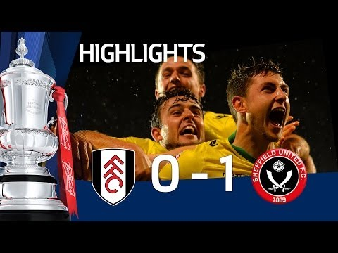 Fulham vs sheffield united 0-1, late winner at craven cottage causes upset - fac4 replay
