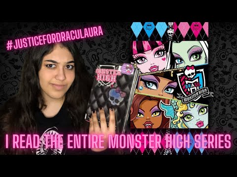 I read the entire monster high series | booktube