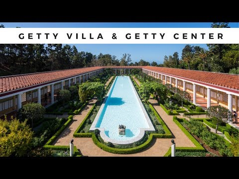 Visiting the getty villa & getty center in one day