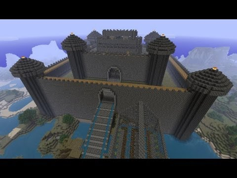 Minecraft: how to build a castle - (minecraft castle)