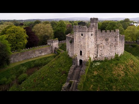 This thousand-year-old welsh castle is a must-see
