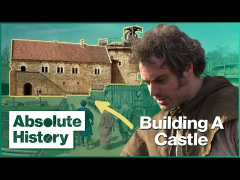 How to build a 13th century castle | secrets of the castle | absolute history