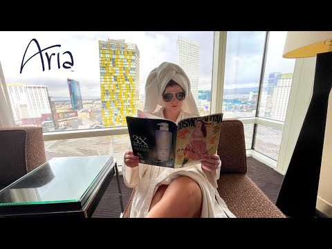 Watch this before you stay at the aria hotel in las vegas.. 😲