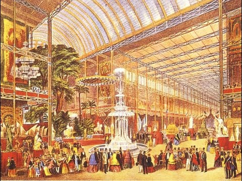 The crystal palace by joseph paxton