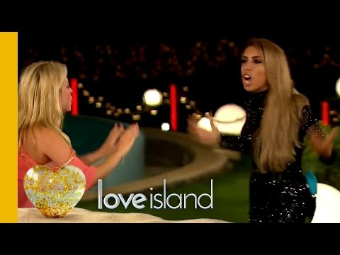 Malia & kady come to blows and malia is removed from the villa - love island 2016