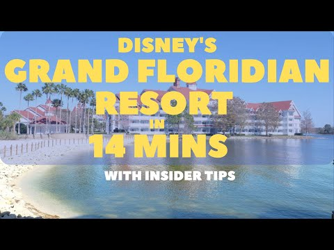 Disney's grand floridian resort & spa in 14 minutes with insider tips