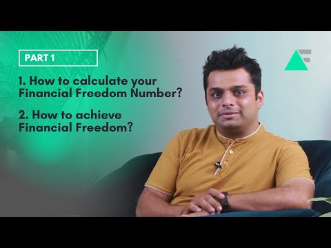 How to calculate your financial freedom number? i how to attaint financial freedom? (part 1)