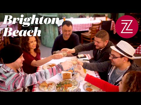 Brooklyn's russian food scene: a night out in brighton beach - nyc dining spotlight, episode 4