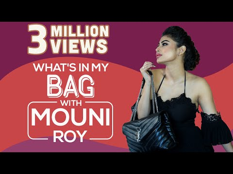 What's in my bag with mouni roy | s03e06 | fashion | bollywood | pinkvilla