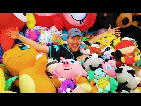 I won every prize at a theme park