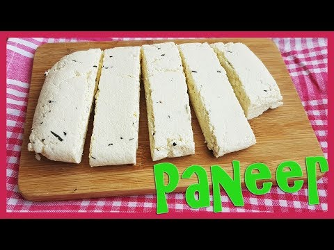 How to make indian cottage cheese | homemade paneer recipe