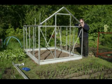 How to build a greenhouse part 1