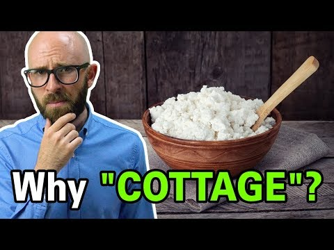 Why is cottage cheese called that and who invented it?