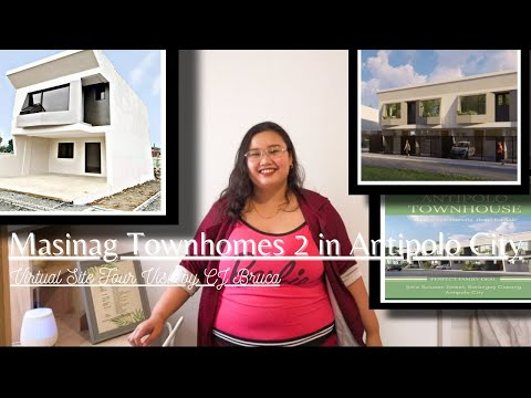 Masinag townhomes 2 in antipolo city  complete modern turn over unit  site tour visit  cj bruca