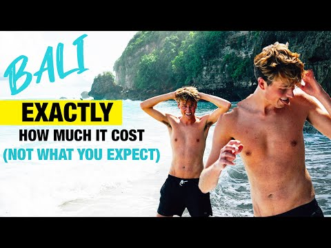 Exactly how much $$ i spent traveling to bali (surprising!)