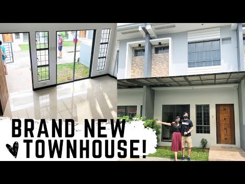House tour of victoria homes townhouses muntinlupa   marc and ef