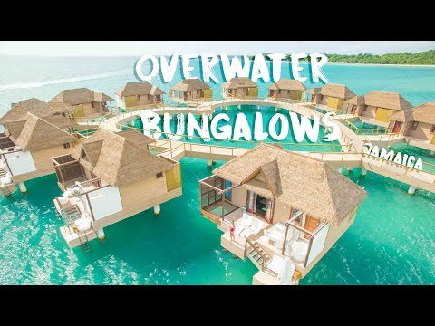 Overwater bungalows jamaica - sandals south coast room tour