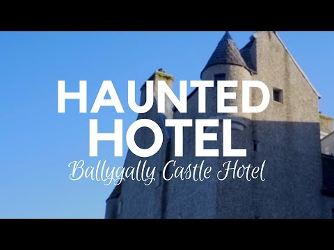 Ballygally castle hotel with its haunted rooms - ni