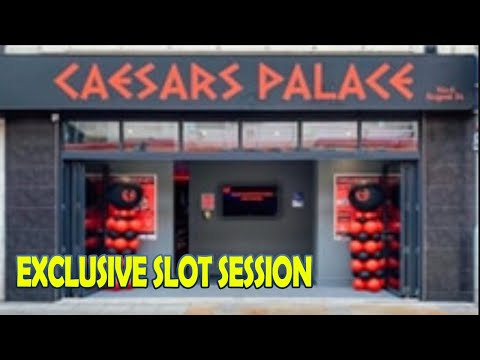 Brand new arcade caesers palace slot session opening day in wsm