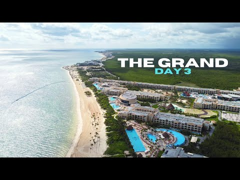 Palace resorts - the grand day 3 - cancun all inclusive resort 2021