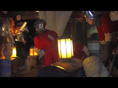 Castle life during medieval times
