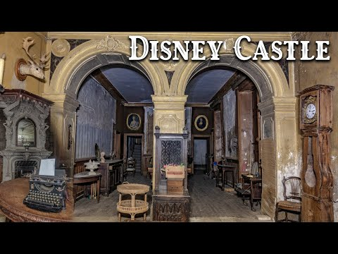 Fully furnished abandoned disney castle in france - a walk through the past