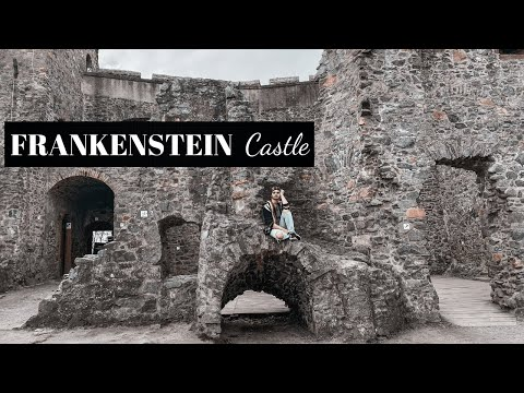 Frankenstein castle in germany | mystical place - interesting history | top halloween spot