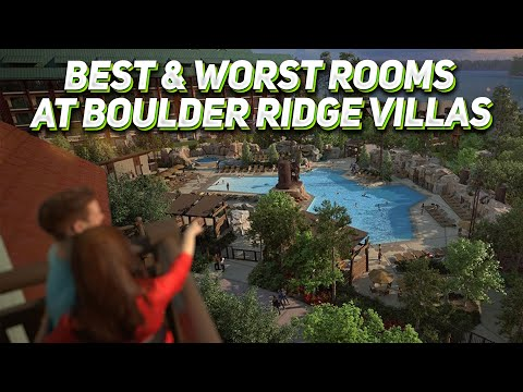 Best & worst rooms at disney's boulder ridge villas & how to make a room request