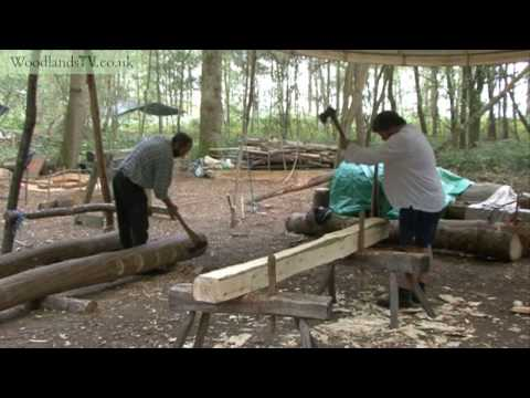 Early medieval timber work
