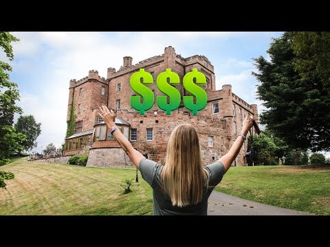 I bought an 850 year old castle in scotland at age 29!