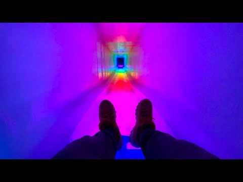 Epic ice slide: a fascinating 4k pov ride down this ice slide at ice castles in new hampshire