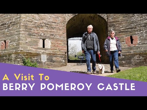 A visit to berry pomeroy castle - most haunted in uk?