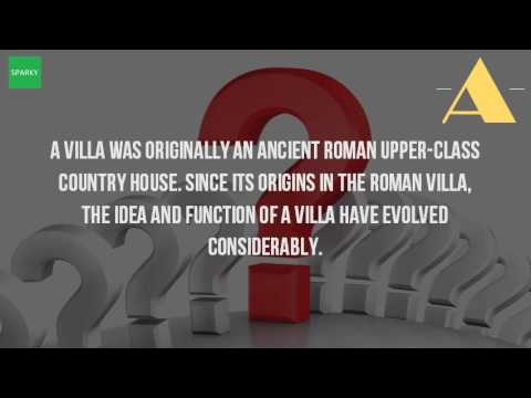What does villa mean?