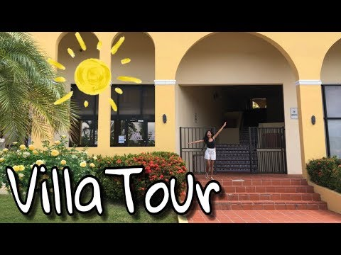Staying at a villa with my friends | hotel tour | vlog 2