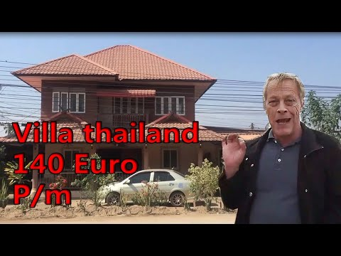 Villa in thailand for only 140 euro a month!