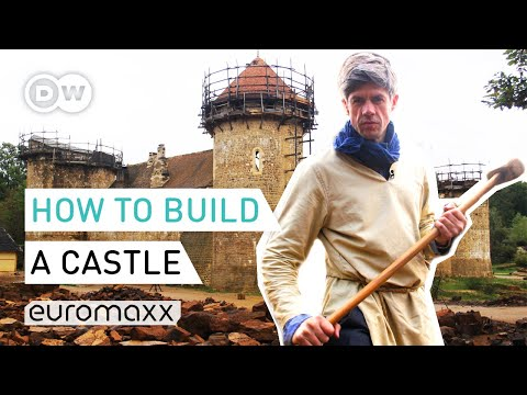 How to build a medieval castle   medieval castle guédelon   europe to the maxx