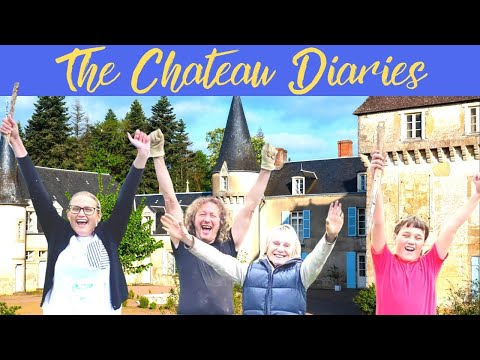 The chateau diaries: team spirit and champagne!