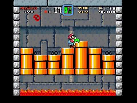 Super mario world why yoshi can't go in the castle