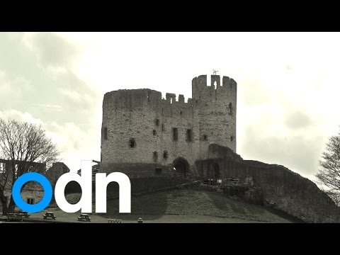 Chilling photo shows 'ghost' grey lady snapped at dudley castle
