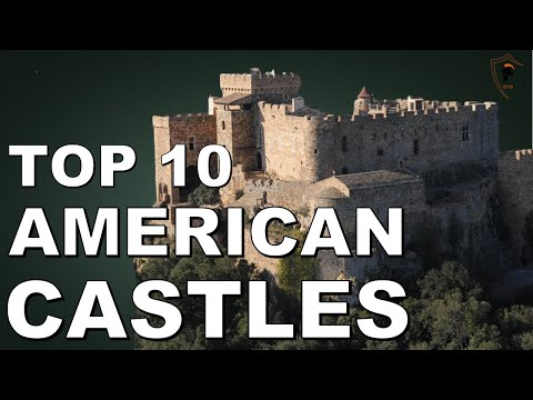 Top 10 most impressive medieval style castles in the united states of america