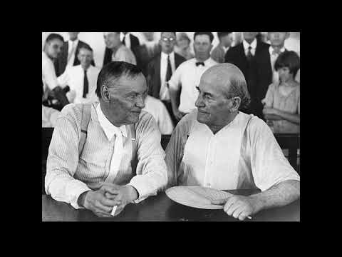 Innes lecture 2020 - the 1925 scopes monkey trial: why did so many people hate evolution?