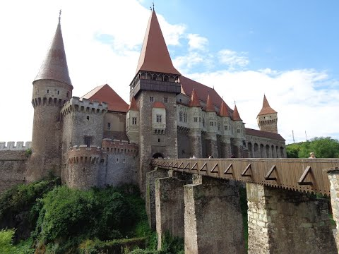 Corvins' castle, the most spectacular gothic-style castle in romania